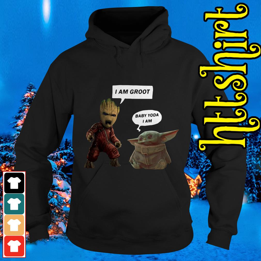 Baby Groot and Baby Yoda Hoodie