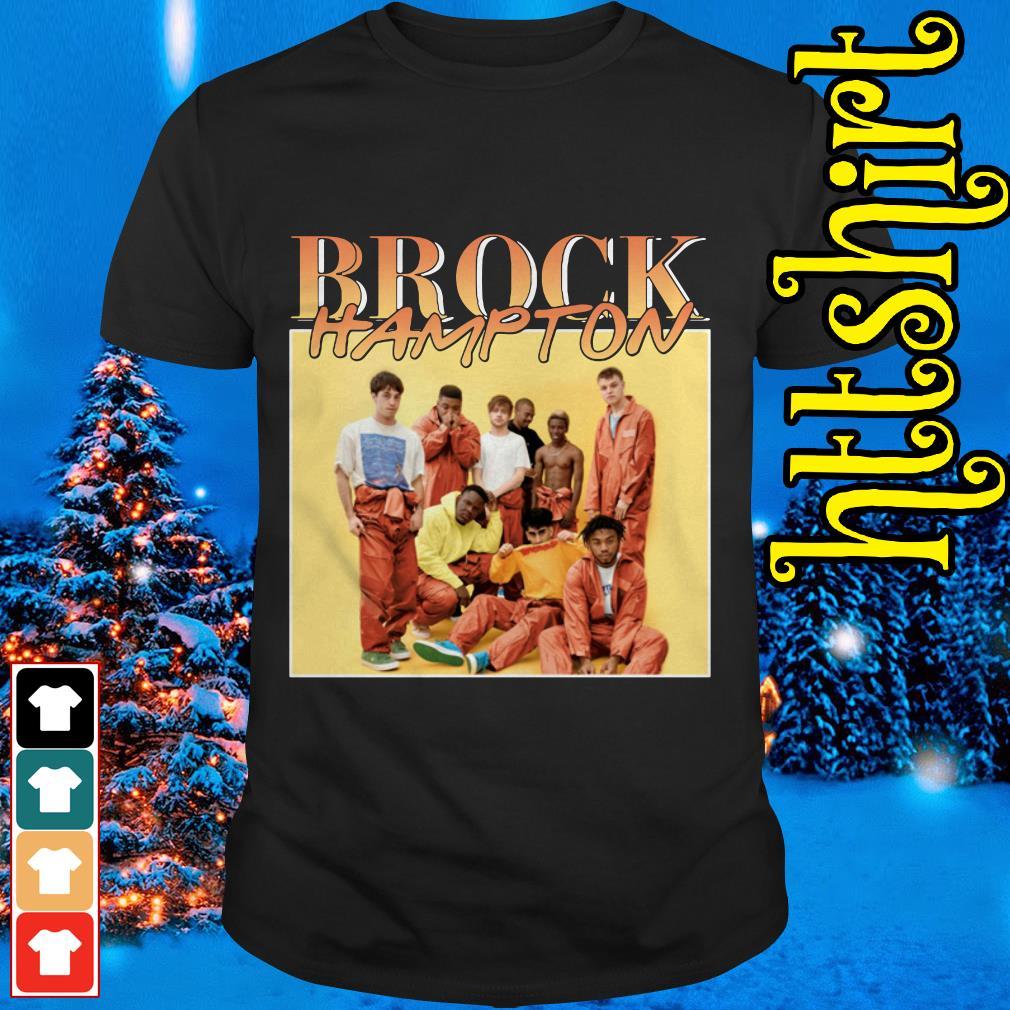 Brockhampton members shirt