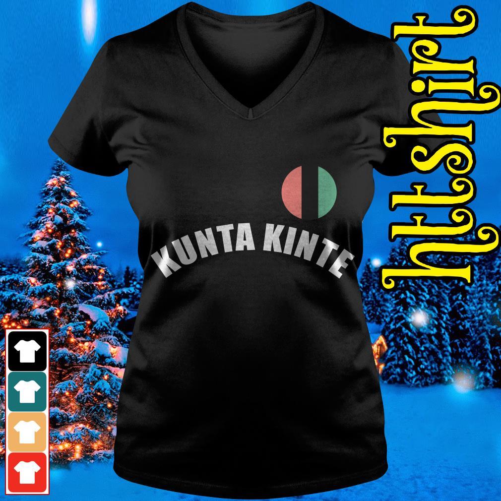 Colin Kaepernick Kunta Kinte V-neck t-shirt