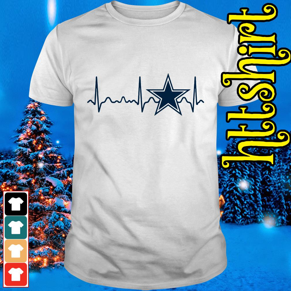 Dallas Cowboys heartbeat shirt