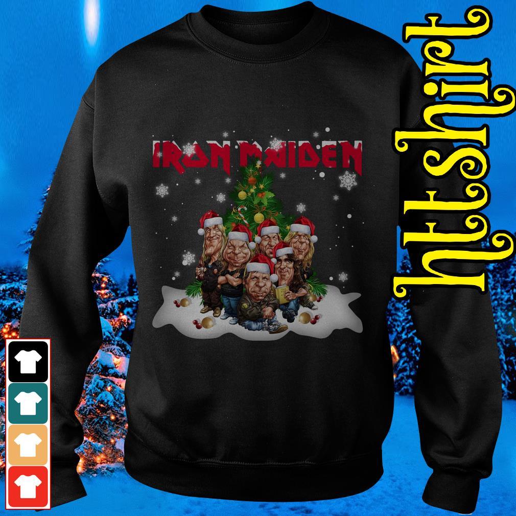 Iron Maiden Christmas tree Sweater