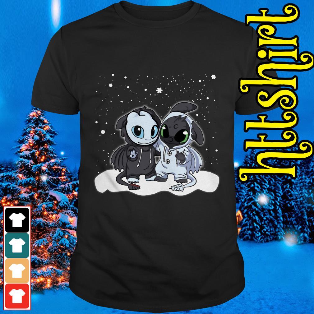 Night Fury and Light Fury Christmas shirt, sweater