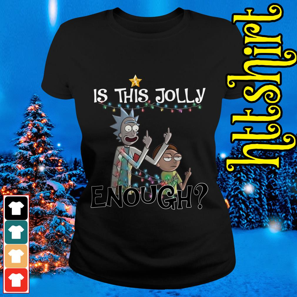 Rick and Morty is this jolly enough Ladies tee
