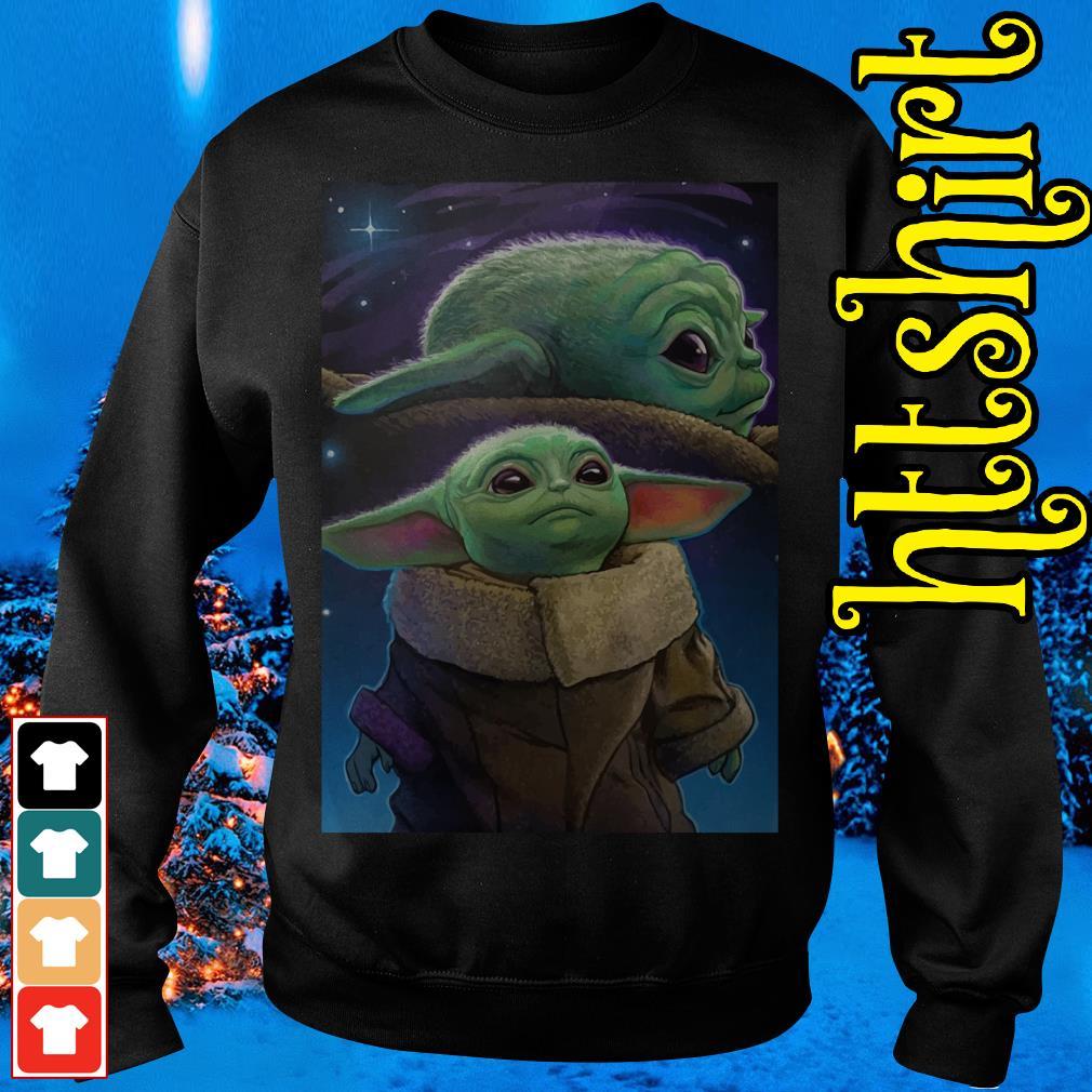 The Mandalorian Baby Yoda poster Sweater