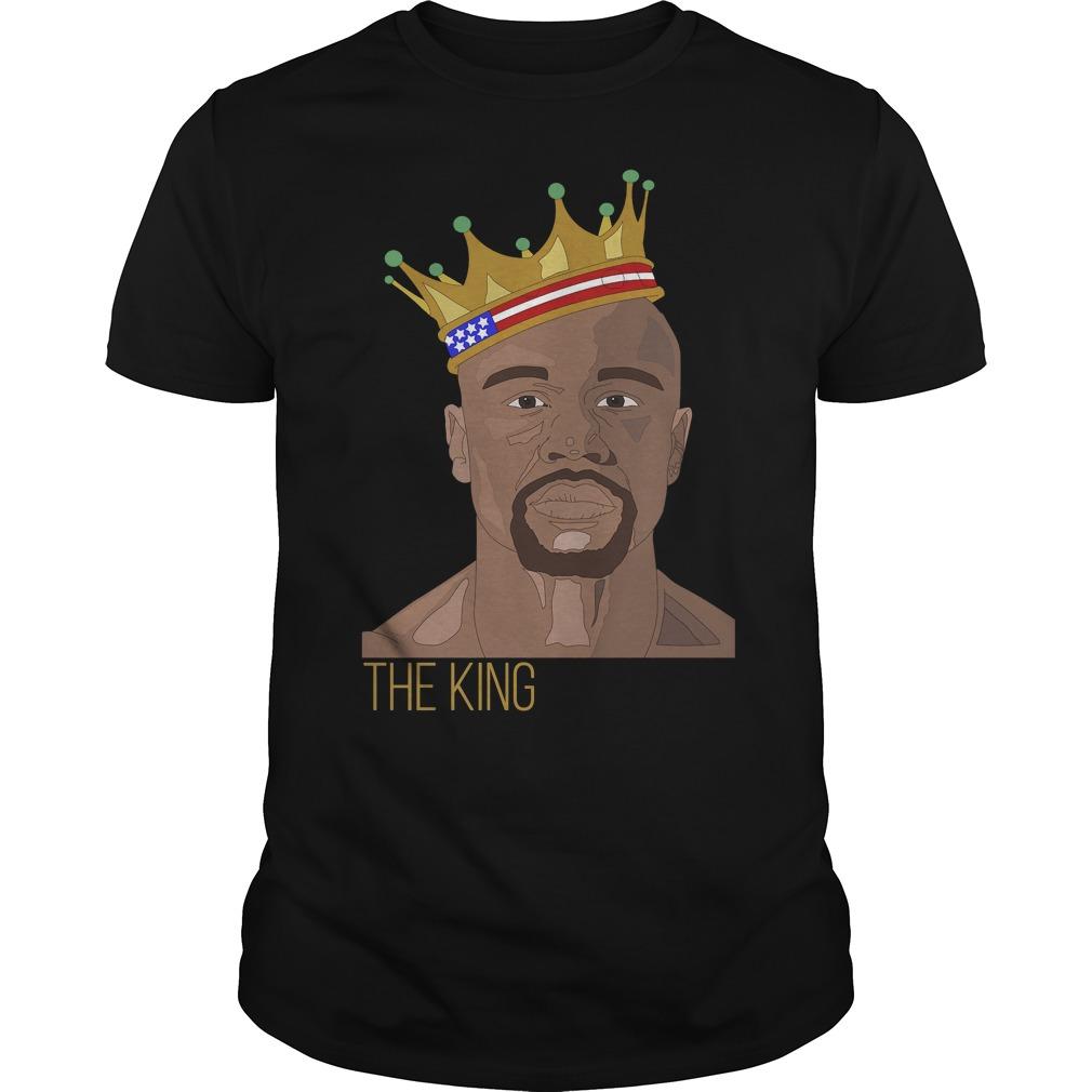 King floyd mayweather jr shirt