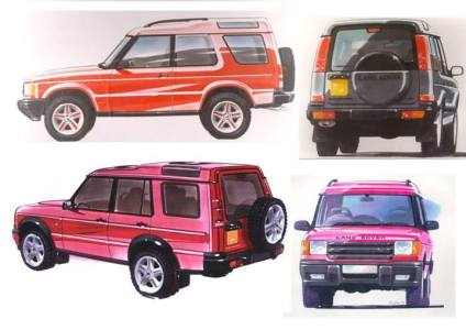The Series II Discovery, with tighter panel gaps