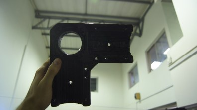 An extremely solid print that was strong enough to be drilled.