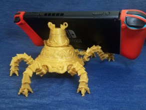 The Legend of Zelda Breath of the Wild 3D Print Nintendo Switch Stand Pic 6