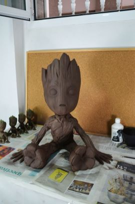 Guardians of the Galaxy Vol. 2 Giant Baby Groot 3D Print Pic 8
