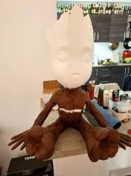 Guardians of the Galaxy Vol. 2 Giant Baby Groot 3D Print Pic 9
