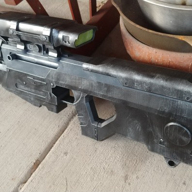 Halo Reach Sniper Rifle 3D Print Finished 2