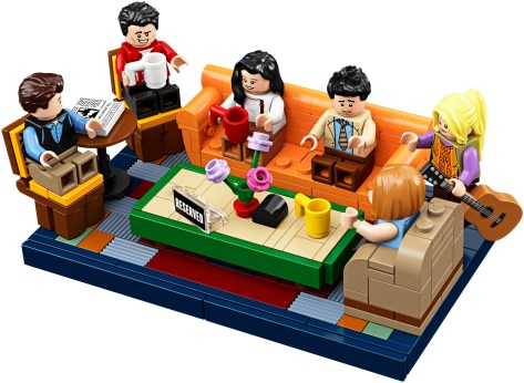 LEGO Ideas 21319 Friends Central Perk Seats