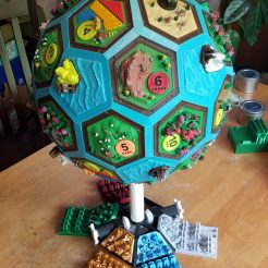 The Settlers of Planet Catan 3D Print 2