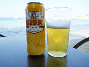 Cisk_Lager_and_Beach