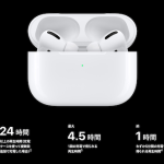 AirPods(第2世代)、AirPods Proでファームウェア(2C54)アップデート