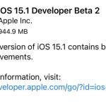 iOS 15.1 beta 2、Apple Watchでのロック解除の不具合を解消