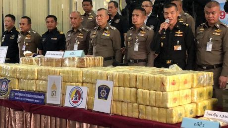 Thailand Seizes Hundreds Of Millions Of Methamphetamine Pills In Six Month Period