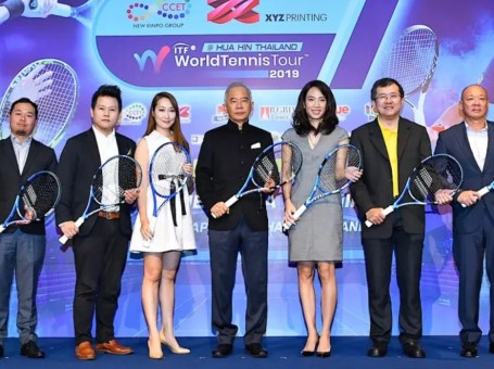tennis world tour 2019 Hua Hin Thailand