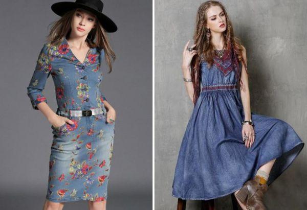 Джинсовое платье с какой обувью носить фото – С чем носить ...