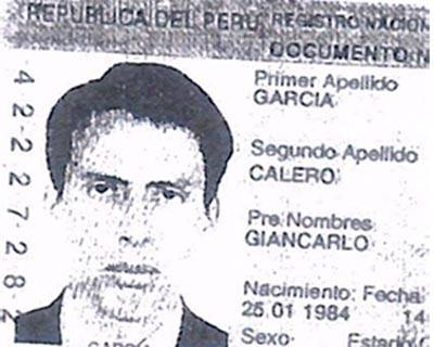 Giancarlo Calero Garcia