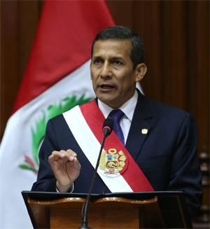 Presidente Ollanta Humala dirige mensaje a la Nación por Fiestas Patrias