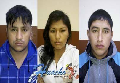 capturan ladrones  Huaral