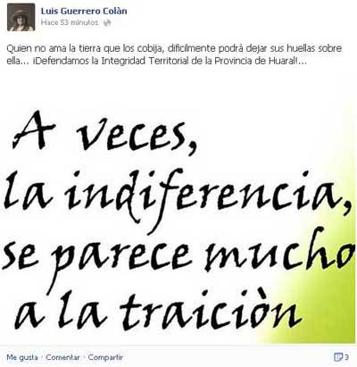 Luis Guerrero Colan - limites de huaral
