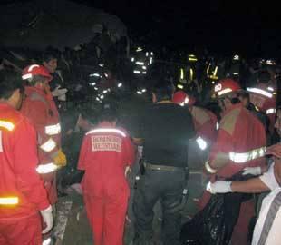 accidente en Chancay