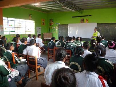 colegio  Antonio Arellano Buitron de Cabuyal