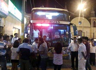 asaltan pasajeros z bus-pasamayo-huaralenlinea