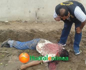 8 impactos de bala termino con la vida de un ex efectivo de la Policia Nacional Huaralenlinea.com