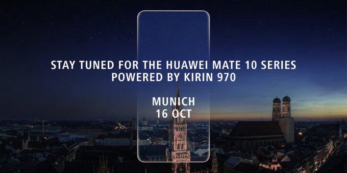 Huawei Mate 10 Kirin 970-nel