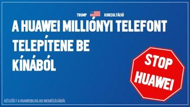 Tiltanák az amerikaiakat a Huawei-től
