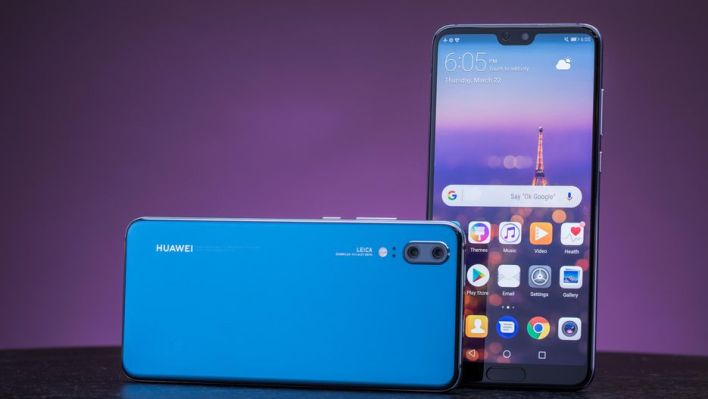 Huawei P20 kék