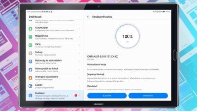 """Huawei MediaPad M5 10"""" frissítés"""