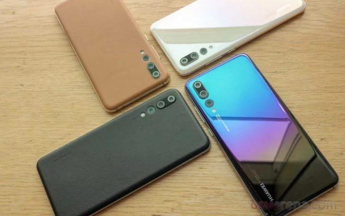 Élő képeken az új P20 Pro színek