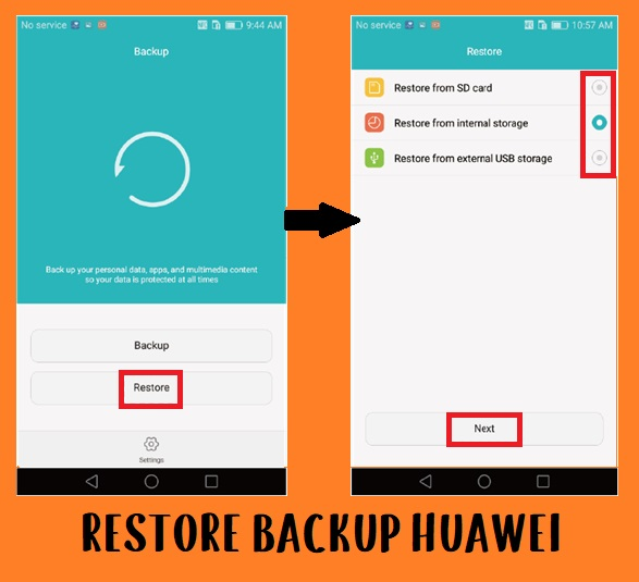 restore data huawei honor for flash file
