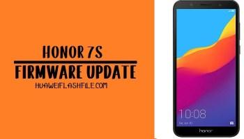 How to Flash Honor 7S Stock Firmware – Huawei Firmware