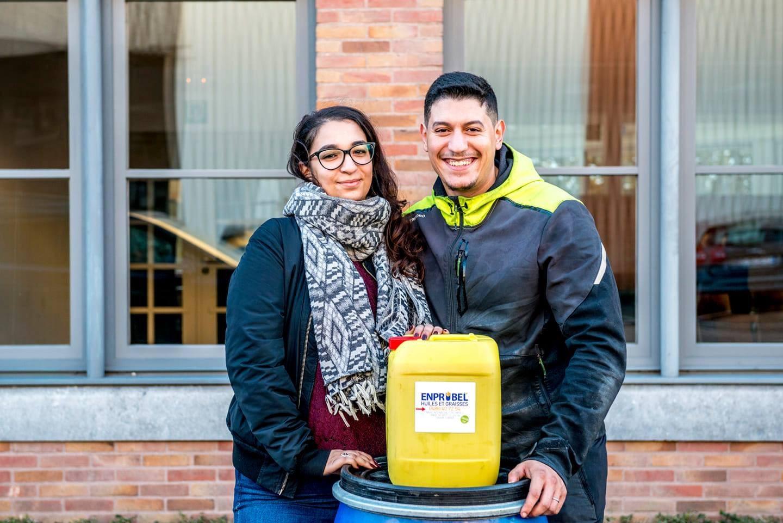 Nahla El Mernissi & Imad Moukkat   greenlab winners 2018