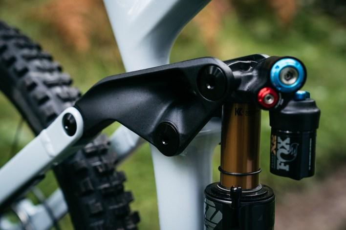 Vitus Sommet rear suspension detail