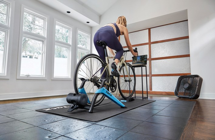 Tacx Boost in action