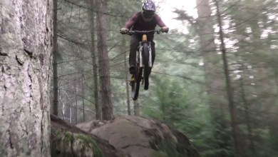 Trail bike madness with Elliott Heap