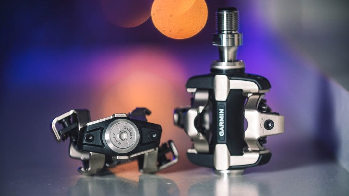Garmin Rally XC200 and XC100 power meter pedals