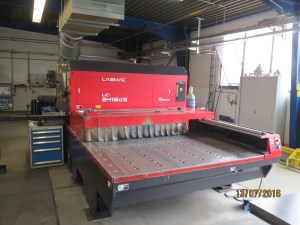 Amada laser cutting machine LC 2415 A III