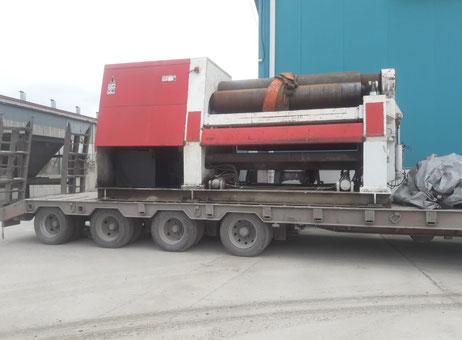 Akyapak AHS 25/35 Plate rolling machine - 4 rolls