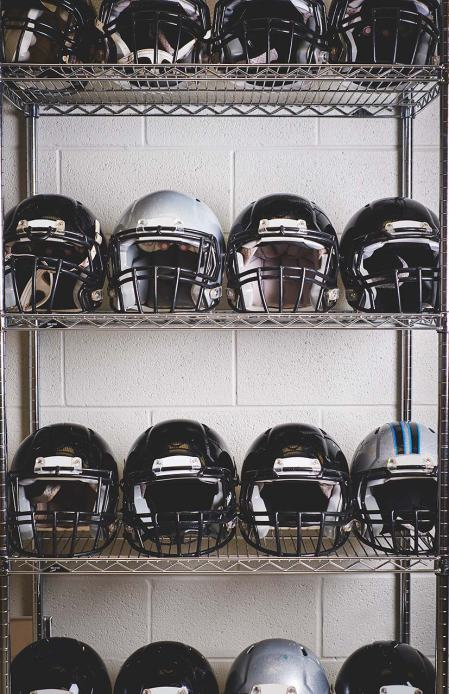 Wake Forest Baptist and Virginia Tech created an entire system of in-helmet sensors