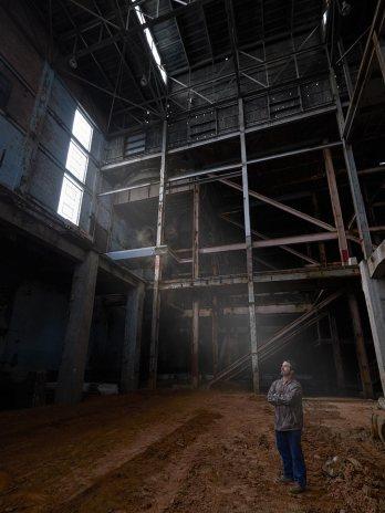 Boiler Room in Bailey Power Plant