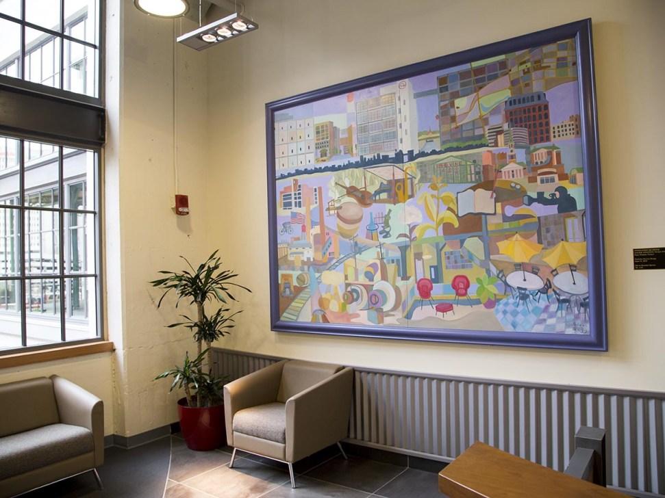 Nick Bragg Art Installation in 525@vine