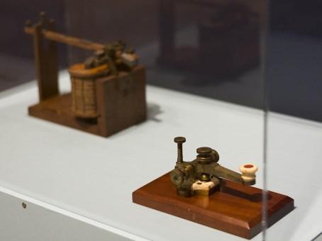 Morse's telegraph transmitter