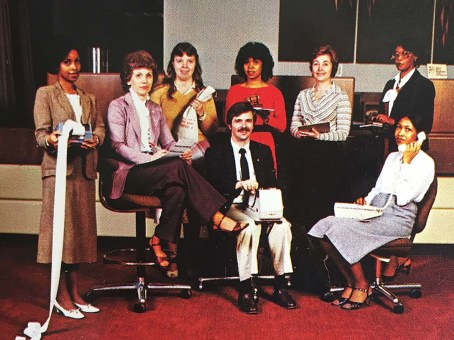 In its first six weeks, 7,000 RJR employees joined Allegacy, including the employees pictured here.